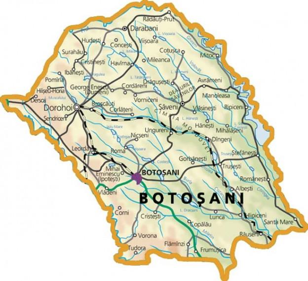 Județul Botoșani Foraje Puturi Apa