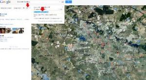 Harta google maps in judetul Caras-Severin